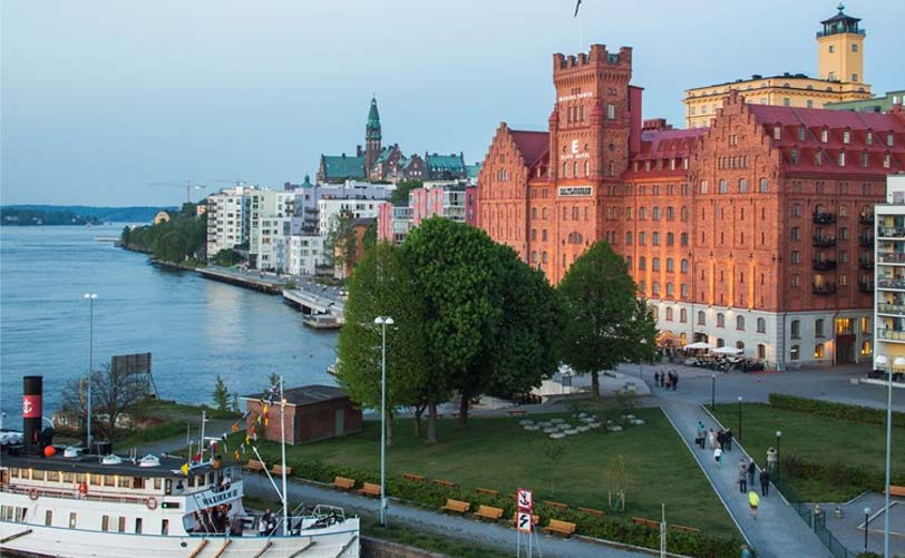 Stay in Stockholm at the elegant Elite Hotel Marina Tower